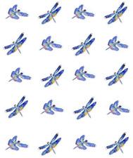 Dragonflies in flight Waterslide /Water Transfer Nail Decals/Nail art
