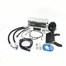 Motorcycle Oil Cooler Fan Cooling System For Harley Touring 2012-2016 Chrome