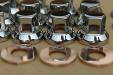 KAWASAKI Z1 KZ Z900 Z1000 STAINLESS CYLINDER HEAD NUTS AND WASHER SET 92015-076