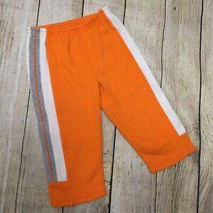 Nike Orange Jogging pants with White & Grey Stripes Size 2T