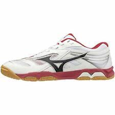 MIZUNO Table Tennis Shoes WAVE MEDAL 6 White Black Red 81GA1915 US10.5(28.5cm)