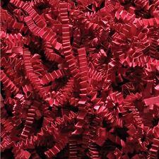 500g Rouge râpé Kraft papier froissé coupe | look professionnel cadeau entraver remplir