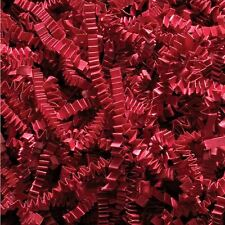 500g RED kraft shredded CRINKLE CUT paper | Professional Look Gift Hamper Fill