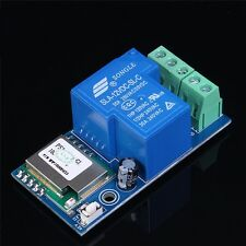 1PCS Wifi Relay Switch Module Low Power Jog Mode DC 12V For Smart Home CA