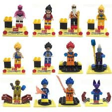 12pcs Dragon Ball Z Resurrection Son Goku minifigure blocks toys lego