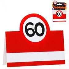 Tischkarten 60 Geburtstag Günstig Kaufen Ebay