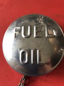 VINTAGE CLASSIC FUEL OIL WESTWOOD CHROME  CAP         17