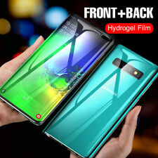 Soft Hydrogel Film For Samsung Galaxy S8 S9 S10 Plus S10e Screen Protector