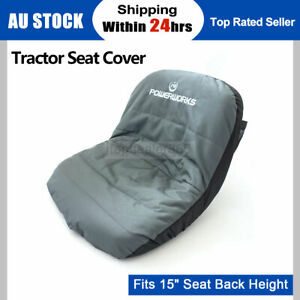 FIT FOR JOHN DEERE MURRAY ROVER VICTA HUSQVARNA COX MTD RIDE ON MOWER SEAT COVER