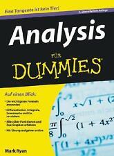 Ryan, M: Analysis für Dummies von Mark Ryan (2010, Taschenbuch)