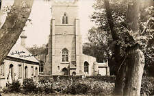 Walpole St Andrew near Sutton Bridge by Logsdail & Co., Lynn. Church & Trees.