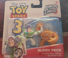 Disney Pixar TOY STORY 3 Buddy Pack Buzz and Chunk New in Package