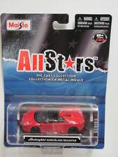 Maisto Allstars Lamborghini Murcielago Roadster Rouge 1:64 Sc W +
