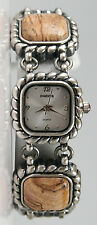 Chico's Women's Antique Silver-Tone Jasper Watch. New and unworn.