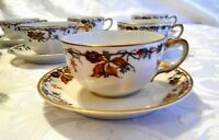 Vintage 14 Pc Haviland Limoges France Cup & Saucer for P.D.G. Co Indianapolis IN