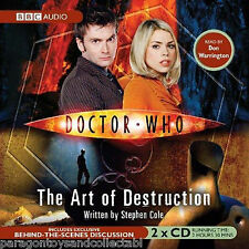 Doctor Who : The Art of Destruction by Steve Cole (CD-Audio, 2006)