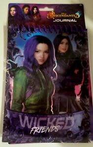 Descendants 3 WICKED FRIENDS Notebook