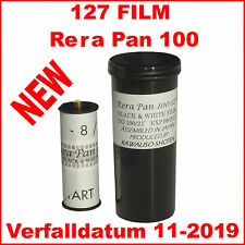 127 Film Rera Pan 100  127, Spool, S/W Negativfilm, Black & white Film