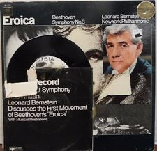 Eroica Beethoven Symphony No. 3 Leonard Bernstein 33RPM ML6174  010117LLE #2