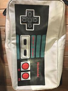 """Nintendo NES Controller Adjustable Straps Backpack 20"""" Long Inside Pockets Roomy"""
