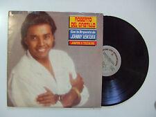 Roberto Del Castillo Con La Orquesta De Johnny Ventura-Justo A Tiempo-33 Giri LP