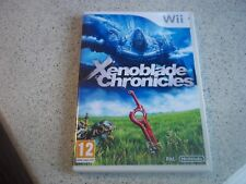 XENOBLADE CHRONICLES:NINTENDO WII PAL  NEW EMPTY CASE & REPRODUCTION INLAY ONLY.
