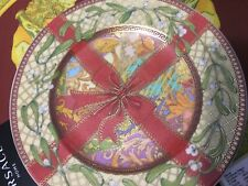 VERSACE CHRISTMAS MAGIC PLATE 2003 LIMITED ED. ROSENTHAL NEW BOX LUXURY SALE