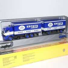"""Herpa 1:87 MB SK 88 Getränkekoffer-Hängerzug """" Kronen schmeckt. """" OVP(EK1782)"""