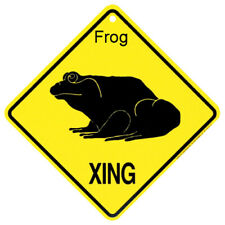 Frog Crossing Sign: 'Frog Xing'. Sale Priced And Free Shipping.