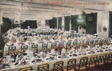 Postcard Hotel Stratford Clover Club Banquet Hall Philadelphia Pa