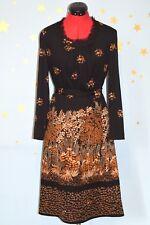 Vestido estampado estilo vintage 70s Excelente