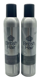 BRITISH HAIR 'PERFECTLY CLEANSING DRY SHAMPOO' 300ml ( SET OF 2 )
