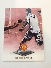 Manchester United Futera Platinum 1999 Greatest Card (GW)