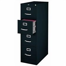 CommClad 4 Drawer Letter Size File Cabinet - Black (17892)