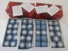 UNUSED Boxed Vintage Coats Mercer Crochet Cotton Beautiful Blue