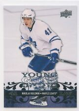 08-09 UPPER DECK YOUNG GUNS ROOKIE RC #495 NIKOLAI KULEMIN MAPLE LEAFS *52228