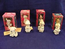 Precious Moments Ornaments LOT of 4 MIB THE MAGIC STARTS WITH YOU