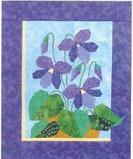 Violets foundation paper pieced quilt pattern by Eileen Sullivan Designer's Wksp