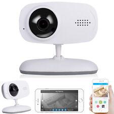 720P 2-Way Talk Digital Wireless Wifi Baby Monitor Video IR Camera Motion Detect