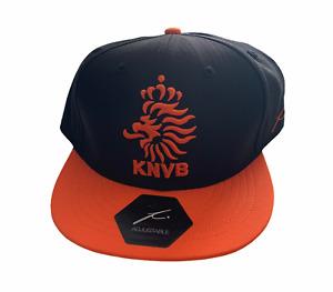 Netherlands Football Men's Hat Fanatics Classic Logo Hat - Black - New