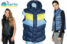 Nike Sportswear NSW 550 Down BODY WARMER GILLET Womens Ladies Jacket Coat Blue