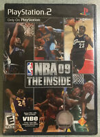 NBA 09: The Inside black-label (Sony PlayStation 2, 2008) NEW-FACTORY SEALED PS2