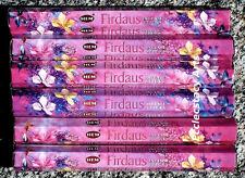Hem Firdaus 6 Packs x  20 Stick Box, 120 Incense Sticks NEW {:-)