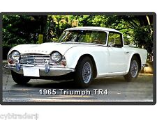 1965 Triumph TR4  Auto Refrigerator  / Tool Box Magnet Man Cave Shop item