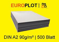 (0,32€/m²) Kopierpapier 1x 500 Blatt | 90 g/m² DIN A2 Zeichenpapier