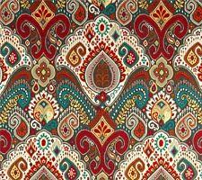 Outdoor/ Indoor ~ Upholstery ~ BOHO ~ Multi ~ Fabric~  per 1 yard
