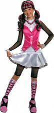 Deluxe Monster High Draculaura Girls Halloween Fancy Dress Costume
