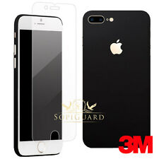 SopiGuard 2 x Screen Protector + Carbon Fiber Skin for Apple iPhone 7 Plus