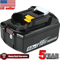 For Makita BL1850B 18V 5.0Ah Rechargeable LXT New Li-Ion Battery with Indicator