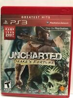 Uncharted: Drake's Fortune (Sony PlayStation 3, 2007).